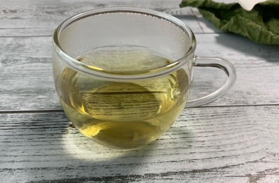 イチジク葉茶を作ってみました