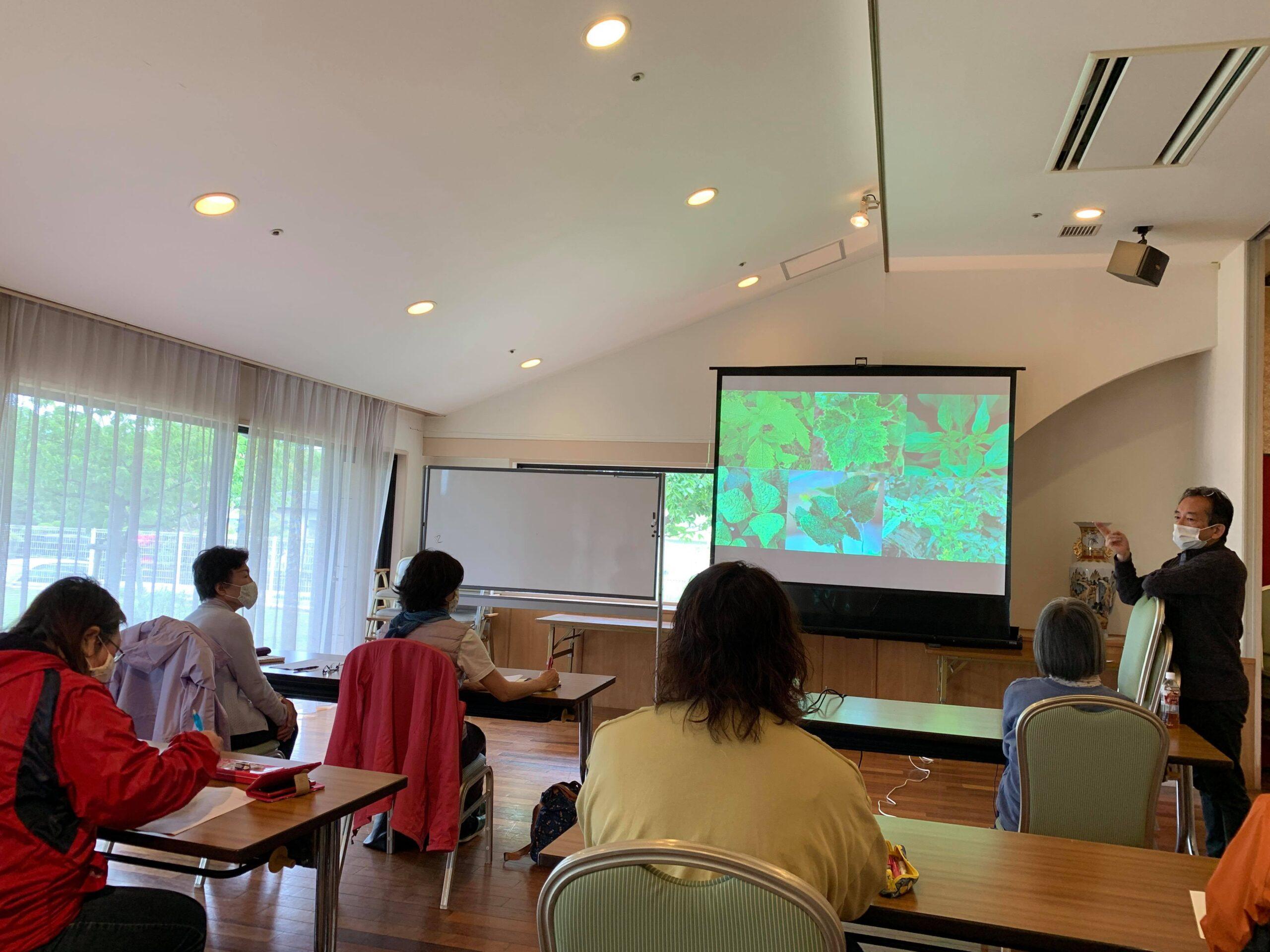 木村正典講師による有機栽培講座